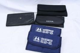 Camera Filter Holder Wallets Lot of 5 Hoya Hakuba Nikon - $29.39