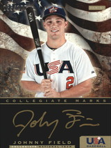 2012 Panini USA Baseball Collegiate National Team Collegiate Marks #8 Johnny Fie - $8.00