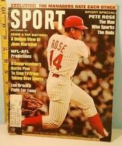 1967 Sept. Sport Magazine - Pete Rose, Lou Brock, Juan Marichal - $14.85