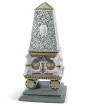 Lladro Porcelain Retired 01008463 Renaissance obelisk box (red) New in B... - $1,473.85