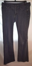 "Express Jeans Women's Sz 4 Dark Wash Denim 28"" Inseam 5 Pocket Style - $4.99"