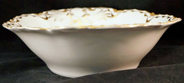 Haviland Limoges Oval Serving bowl with Double Gold Ribbon Edge - $29.99