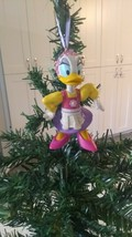 Vintage Disney Daisy Duck PVC Figure Custom Christmas Tree Ornament - $8.88