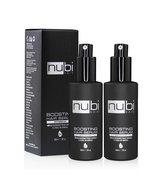 LOT OF 2 Nubi Boosting Marula Oil Hair Serum, Vitamin E and Aloe Vera, 2... - $33.80