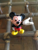 """Mickey Mouse. Figure Pvc 2"""" (2in). Disney Applause China - $6.93"""