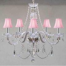 New! Murano VENETIAL Style Authentic All Crystal Chandelier Lighting wit... - $148.95