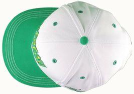 Flat Fitty Hashtag Fresh Wiz Khalifa Green White Snapback Baseball Hat Cap NWT image 3