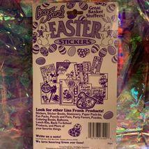 Vintage Lisa Frank Easter Sticker Sheets (2) Sealed In Original Package RARE HTF image 4