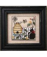 Itty Bitty Kitty & The Honeybees Teenie Tweenie cross stitch Sweetheart ... - $9.90