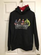 BNWTS DC Comics Marvel Avengers Boys' Long Sleeve hoodie Sweatshirt  SZ XXL (18) - $16.82