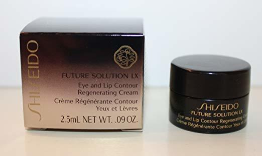 Shiseido Future Solution LX Eye & Lip Contour Regenerating Cream .09 oz 2.5 ml  - $14.99