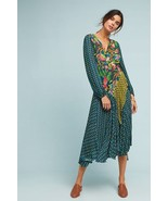 NWT ANTHROPOLOGIE DELAFOSSIE WRAPPED DRESS by BL^NK LONDON S - $142.49