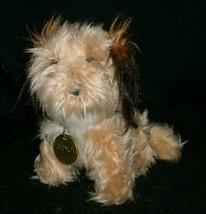 """7 """" Vintage R Dakin Benji Cucciolo Cane Peluche Animale Bambino Marrone Collare - $15.08"""
