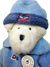 Boyds Bears Ludwigg V. Burrbruin Plush Teddy Bear White Stuffed Animal T... - $39.95