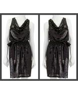 Apt. 9 Black Sequin Scoop Neck Sleeveless Dress - Size Extra Large  - $49.95