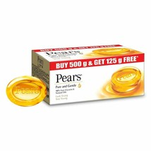 Pears Pure And Gentle Bathing Bar, 125g (Pack Of 5) - $24.74