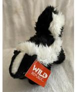"""Plush Skunk Wild Republic 8"""" Stuffed Animal Toy Cute Cuddly NWT - $10.99"""