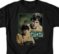 Star Trek T-shirt Pavel Chekov Retro 60's The Original Series graphic tee CBS569 image 2