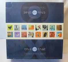 This vs That Board Game of Contrasting Thoughts Sealed 2003 - $28.05