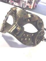 Steampunk Eyemask  - Male Masquerade Mask - $19.62