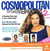 Cosmopolitan Virtual Makeover 2 Sampler (Jewel Case) [CD-ROM] Windows NT... - $29.69