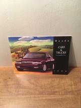 1996 Mazda 24-page Car Sales Brochure - Miata Rx-7 Truck Mx-6 Mx-5 626 M... - $8.90
