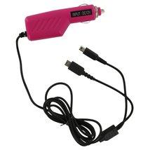 ZedLabz 12v car charger adaper for Nintendo DS Lite, DSi, 2DS & 3DS - Pink - $3.49