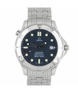 Omega Seamaster Professional 300 Stainless Blue Automatic Date Watch 253... - $1,993.92