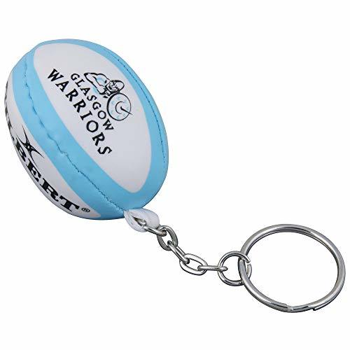 Gilbert Official Glasgow Warriors Pro 12 Teams Rugby Keyring Ball Pack Of 12