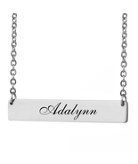 Custom Any Name Bar Necklace Christmas Mother Day Gift for Adalynn - $9.99+
