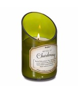 Green Glass Wine Bottle w/ Chardonnay Scented Candle 40 Hours Burn Time - $17.41