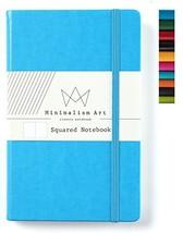 "Minimalism Art   Classic Notebook Journal, Size: 5"" X 8.3"", A5, Blue, Sq... - $12.53"