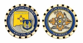 "KIRTLAND AIR FORCE BASE NEW MEXICO MATERIEL COMMAND 1.75""  CHALLENGE COIN - $16.24"