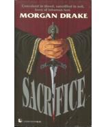SACRIFICE - Morgan Drake - HORROR - RITUAL CULT KILLINGS PERPLEX LOS ANG... - $10.48