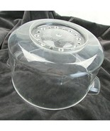 WEST BEND Stir Crazy Popcorn Popper #82305 Replacement Parts Dome lid only - $12.43