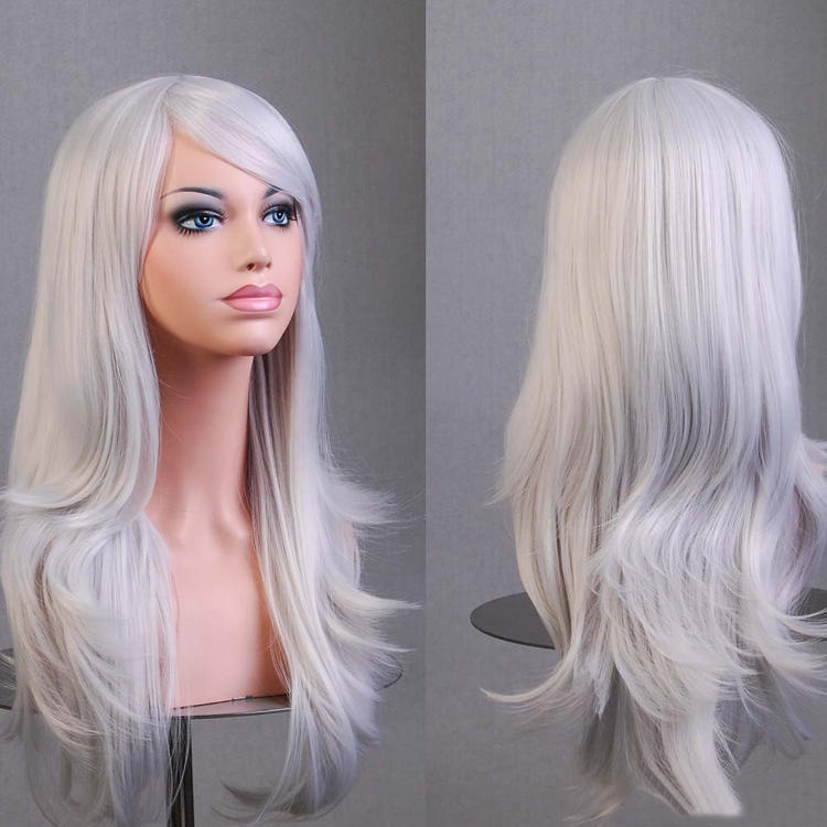 League of Legends LOL Freljord Ashe Cosplay Wig for Sale