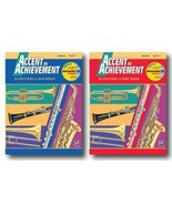 Accent On Achievement with Interactive CD for Bassoon- Two Book Set - In... - $15.86