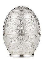 Silver Egg Toothpick Holder Toothpick Dispenser - $21.66