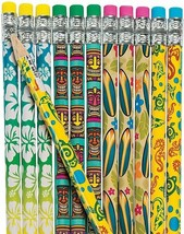 Luau Pencils (24 Pack) Wood. - $7.59