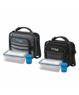 NEW Titan Deep Freeze 2-pack Expandable Lunch Box with 2 Ice Walls FREE ... - $54.99