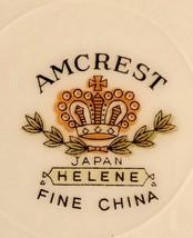 Amcrest Fine China RARE 'HELENE'  Pattern~Service for Four~ - $286.11