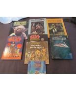 Lot 8 Star Wars Pop-Up Picture Books Activity Books Story Books Ewoks - $34.66