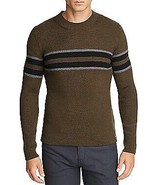 Hugo Boss GREEN Etauro Striped Sweater, US Large - $85.93