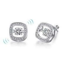 1.50 Carats Dancing CZ Stud Earrings - $39.99