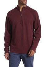 Tommy Bahama Flipshot Reversible Half Zip Raglan Pullover - $75.23