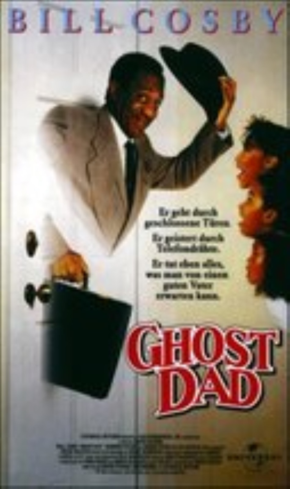 Ghost Dad Vhs