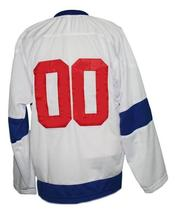 Any Name Number St Louis Eagles Retro Hockey Jersey White Any Size image 5