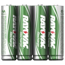 Rayovac Ready-to-use Rechargeable Nimh Batteries (aa; 1,350mah; 4 Pk) RV... - $23.16