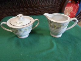 "Outstanding MT. HIRA Bone China ""Hampton""...SUGAR & CREAMER - $13.93"