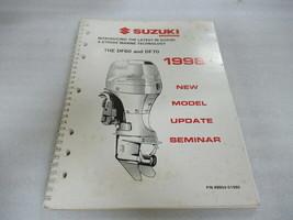 Suzuki Marine 1998 New Model Technical Update OEM Seminar Manual P/N 99954-51980 - $11.38